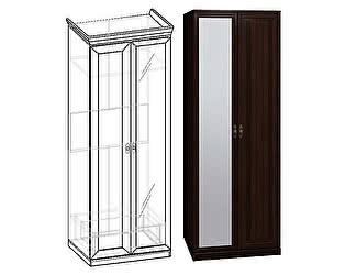 Купить шкаф Глазов для одежды 2 Montpellier, орех шоколадный