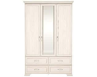 Купить шкаф Ижмебель Венеция 1 для одежды 3-х дверный с ящиками (с зеркалом)