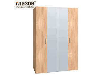 Купить шкаф Глазов для одежды и белья 555 (Дуб Сонома)