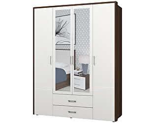 Купить шкаф Интеди Моника-1 ИД 01.127 4х дверный