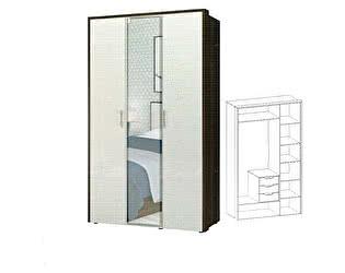 Купить шкаф Интеди Моника-1 ИД 01.407 3х дверный