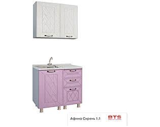 Купить кухню BTS Афина 1,1 м