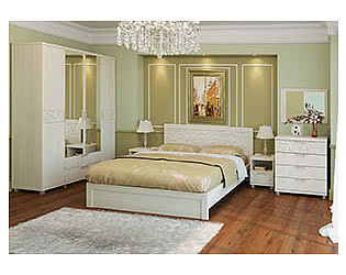Спальня Арника Ирис (дуб бодега)