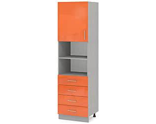 Купить шкаф Баронс Групп Гамма КП.005.500-02, 1 дверь 4 ящика ниша