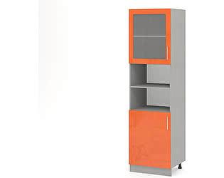 Купить шкаф Баронс Групп Гамма КП.004.500-02/04, 2 двери витрина ниша