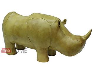 Купить банкетку Hippo Star Носорог (натуральная кожа)