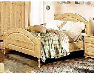 Купить кровать Бобруйскмебель Лотос одинарная с заглушкой  с ножной спинкой (90), Б-1089-05