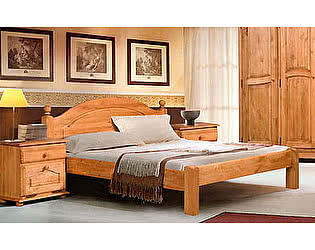 Купить кровать Бобруйскмебель Лотос с заглушкой  без ножной спинки (160), Б-1090-21