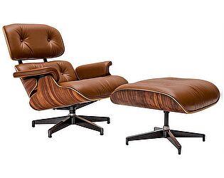 Купить кресло Bradexhome Eames Lounge Chair, коньячный