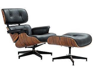 Купить кресло Bradexhome Eames Lounge Chair, чёрный