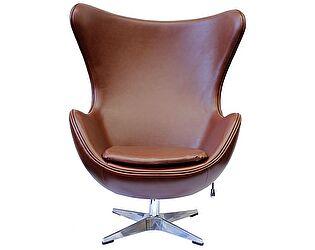 Купить кресло Bradexhome Egg Chair, коричневый/матовый
