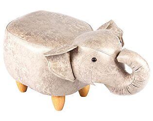 Купить пуф Bradexhome Слон, светло-серый