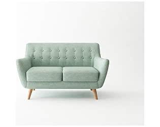 Купить диван Bradexhome Picasso двухместный, бирюзовый