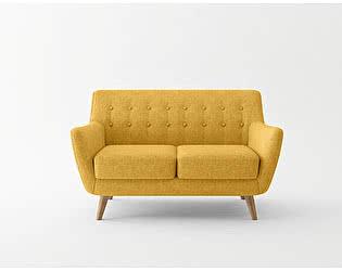 Купить диван Bradexhome Picasso двухместный, горчичный
