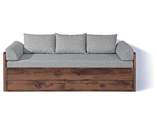 Купить диван BRW Диван-софа Индиана (раздвижной) с матрасом и поду