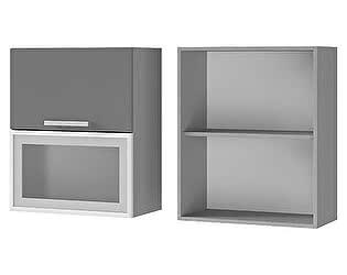 Купить шкаф BTS Мята, Имбирь, Карри 6В3 настенный с дверями горизонтальными
