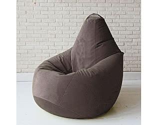 Купить кресло Декор Базар груша Спайк, XXL (горький шоколад)