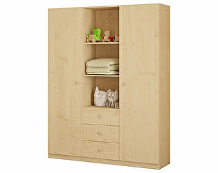 Купить шкаф Polini комбинированный Polini kids Simple