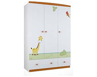 Купить шкаф Polini Polini Basic Джунгли платяной