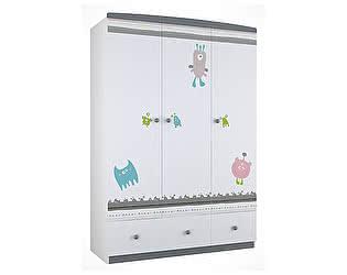 Купить шкаф Polini Polini Basic Монстрики платяной