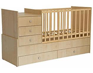 Купить кровать Polini Кроватка-трансформер Polini Simple 1000
