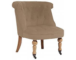 Купить кресло DG-Home Amelie French Country Chair Бежевый Велюр