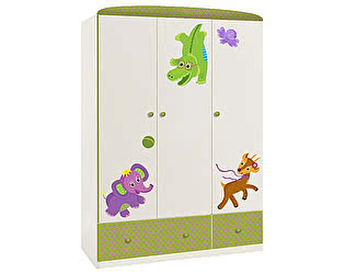 Купить шкаф Polini платяной Polini Basic Elly