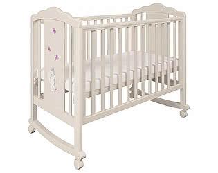 Купить кровать Polini Кроватка Polini Classic 621 Зайки