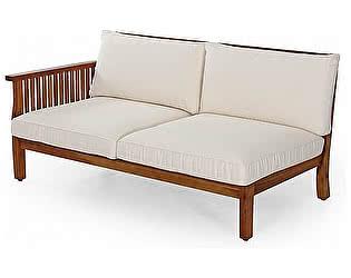Купить диван Brafab Секция для дивана Dallas 10895H-2 коричневый