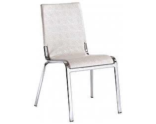 Купить стул Dupen D137 хром/белый