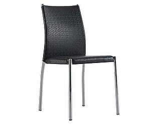 Купить стул Dupen 4159 хром/черный