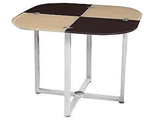 Купить стол Dupen DT327 бежевый/темно-коричневый