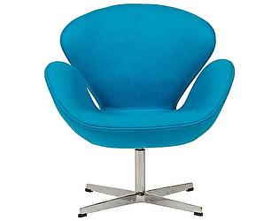 Купить кресло DG-Home Swan Chair Голубой Кашемир