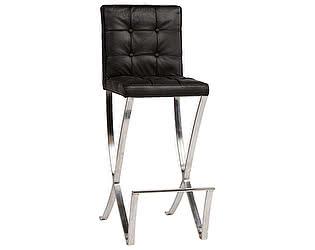 Купить стул DG-Home барный Barcelona Чёрная Кожа