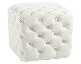 Купить пуф DG-Home Tutti Белый Экокожа