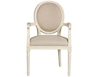 Купить кресло DG-Home Vintage French Round Кремовый Лен