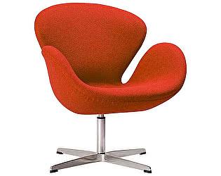 Купить кресло DG-Home Swan Chair Красная Шерсть