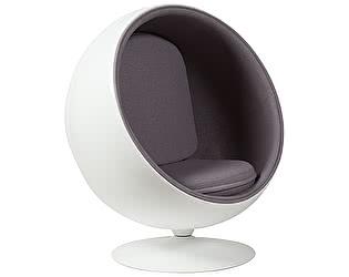 Купить кресло DG-Home Eero Ball Chair Серая Шерсть