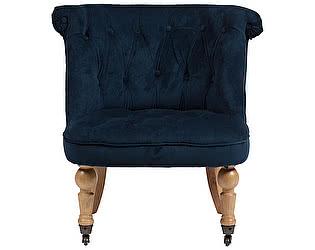 Купить кресло DG-Home Amelie French Country Chair Синий Вельвет