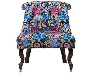 Купить кресло DG-Home Amelie French Country Chair Бабочки