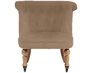 Купить кресло DG-Home Amelie French Country Chair Светло-Коричневый Велюр