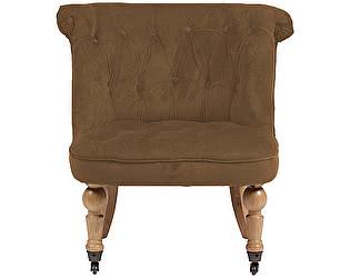 Купить кресло DG-Home Amelie French Country Chair Коричневый Велюр