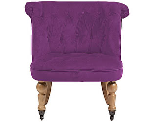 Купить кресло DG-Home Amelie French Country Chair Фиолетовый Велюр