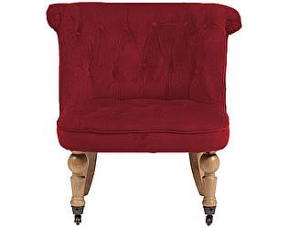 Купить кресло DG-Home Amelie French Country Chair Красный Велюр