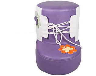 Купить пуф DG-Home Детский Башмачок Фиолетовый
