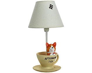 Купить светильник DG-Home Детская настольная лампа Собачка за чаем