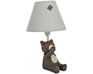 Купить светильник DG-Home Детская настольная лампа Котик Ничего не скажу