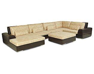 Купить диван Пять Звезд угловой Монца модель №5 с пуфом