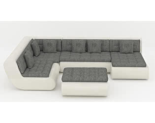 Купить диван Пять Звезд Кормак с пуфом