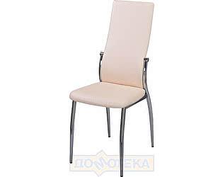 Купить стул Домотека Милано F-1/F-1 светло-бежевый с плетеной текстурой, повышенной комфортности